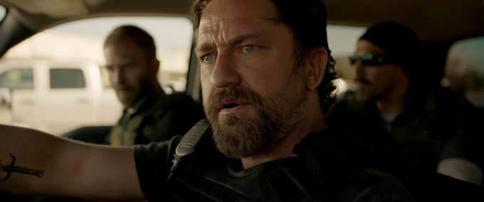 Gerard Butler stars in Den of Thieves